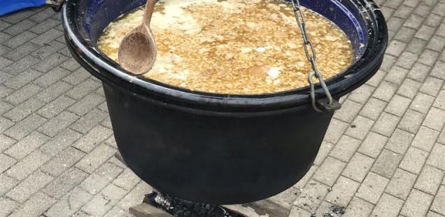 Traditionelles Erbsensuppe-Essen 2018